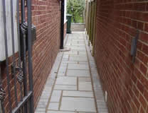 Alley Way Paving
