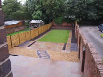 Mrs Antony Back Garden Landscaping Project - Hertford