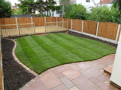Hertfordshire garden landscapes low maintenance designs for Rear garden design ideas